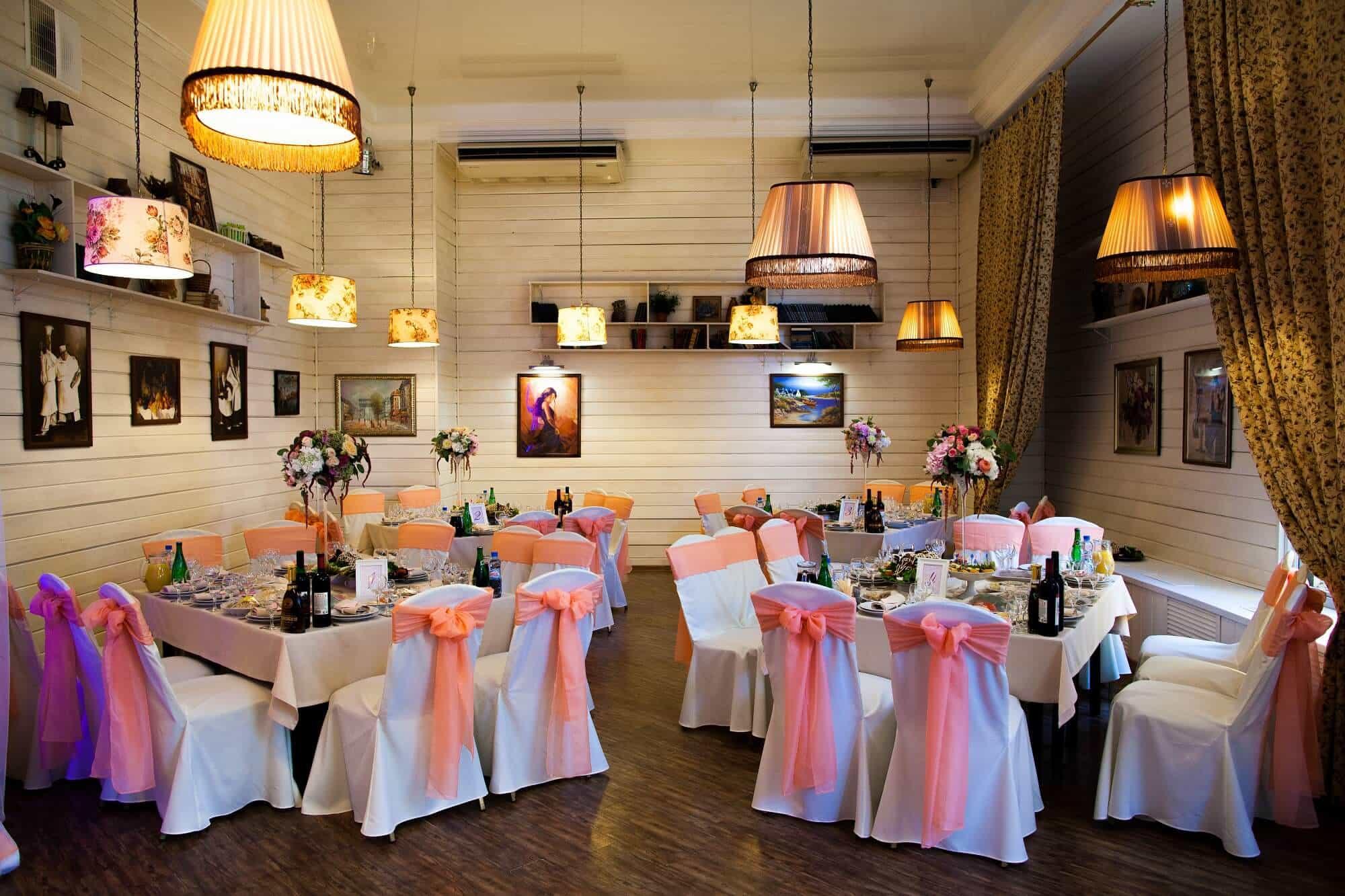 Ресторан для свадьбы в Подольском районе
